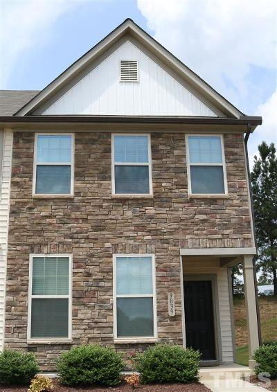 Wake Forest Townhouse Contingent: 9839 Sweet Basil Drive