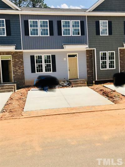 Holly Springs Townhouse Pending: 135 Cobalt Creek Way #Lot 22