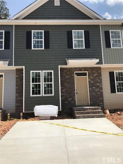 Holly Springs Townhouse Pending: 137 Cobalt Creek Way #lot 21
