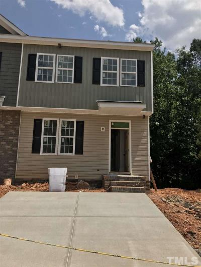Holly Springs Townhouse Pending: 139 Cobalt Creek Way #lot 20