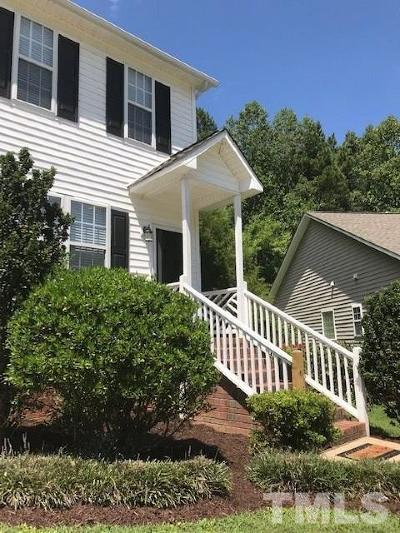 Clayton Townhouse For Sale: 1814 W Cotton Gin Drive