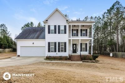 Johnston County Rental For Rent: 82 Portsmouth Island Drive