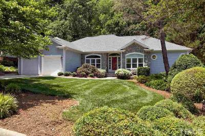 Cary Single Family Home Contingent: 109 Crickentree Drive