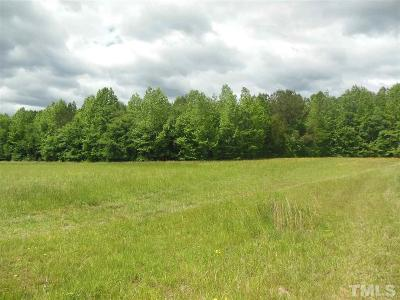 Chatham County Residential Lots & Land For Sale: Lot # 22 Maple Springs Lane