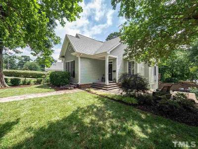 Raleigh Single Family Home Contingent: 1108 Clifton Street