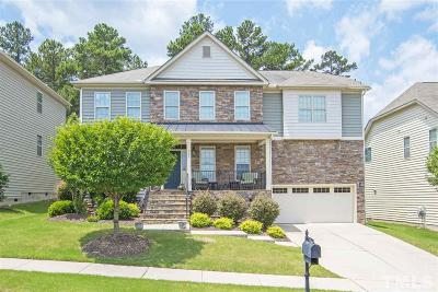 Cary Single Family Home Contingent: 537 Stonecroft Lane