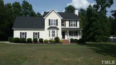 Johnston County Rental For Rent: 813 Rainer Court