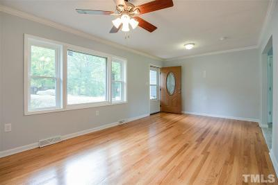 Chapel Hill, Durham, Hillsborough Single Family Home For Sale: 210 S Adams Street