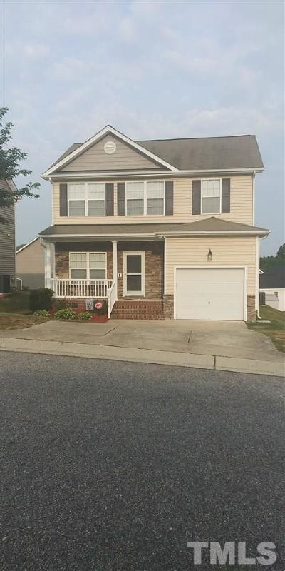 Knightdale Single Family Home Contingent: 1016 Tellis Drive