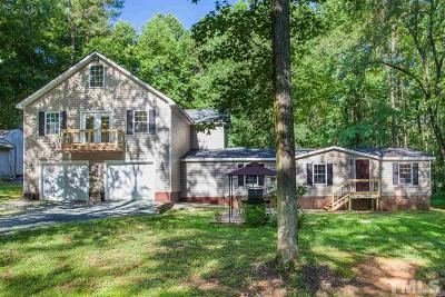 Pittsboro Single Family Home For Sale: 74 Glendale Drive