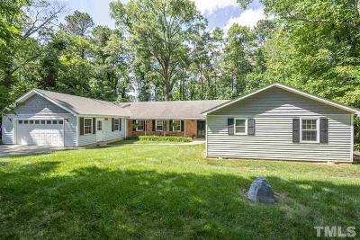 Raleigh Single Family Home For Sale: 8213 Hillside Drive