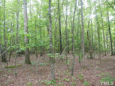 Chatham County Residential Lots & Land For Sale: Lot # 24 Maple Springs Lane