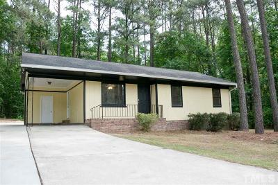Garner Single Family Home Contingent: 8952 Old Cascade Drive