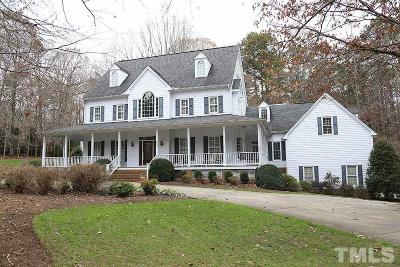 Raleigh Single Family Home For Sale: 8617 Cold Springs Road