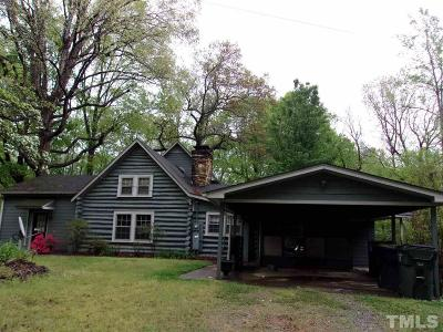 Graham Single Family Home For Sale: 1430 Old Coach Road
