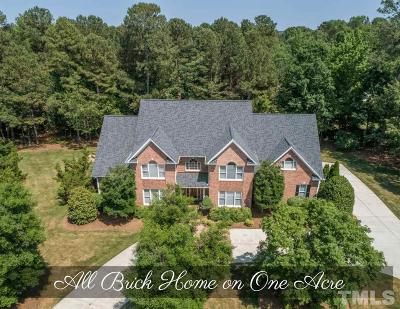 Raleigh Single Family Home For Sale: 4912 Franz Liszt Court