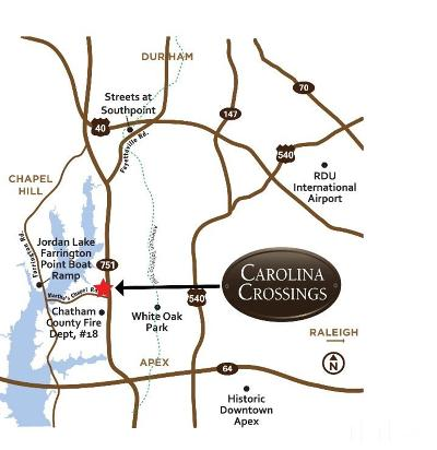 Apex Residential Lots & Land For Sale: 282 Carolina Crossings Drive