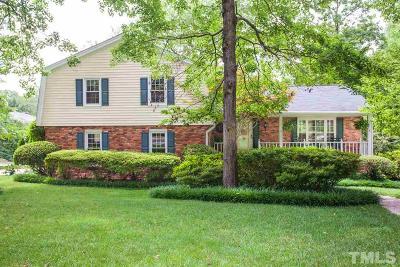 Raleigh Single Family Home For Sale: 5001 Devonwood Court