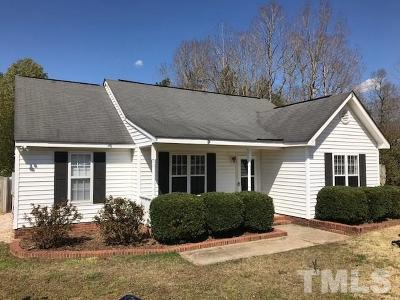 Johnston County Rental For Rent: 196 Morgan Parkway