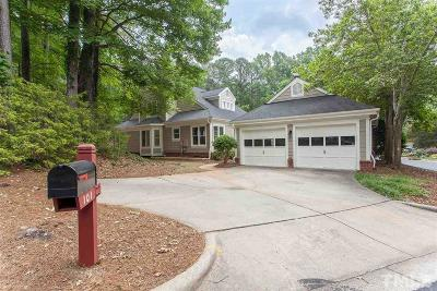 Cary Single Family Home Contingent: 101 Ripplewater Lane