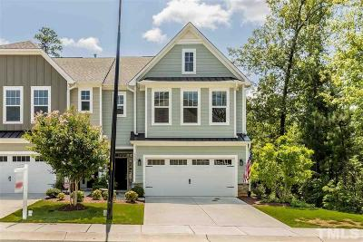 Holly Springs Townhouse For Sale: 123 Ribbon Walk Lane