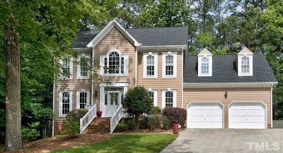 Cary Single Family Home Contingent: 206 Merry Hill Drive