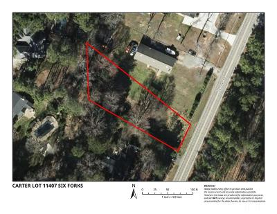 Raleigh Residential Lots & Land Contingent: 11407 Six Forks Road