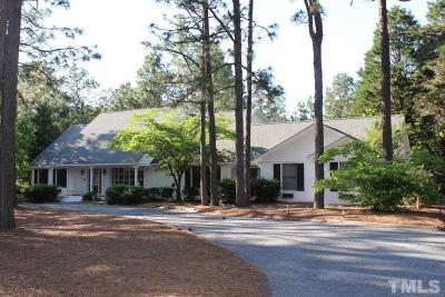 Pinehurst Single Family Home For Sale: 745 Donald Ross Drive