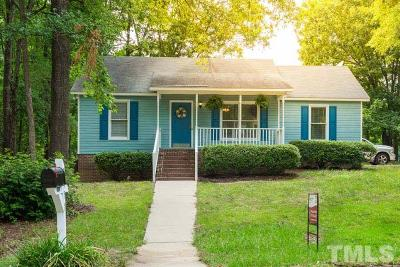 Knightdale Single Family Home Contingent: 5957 Sandy Run
