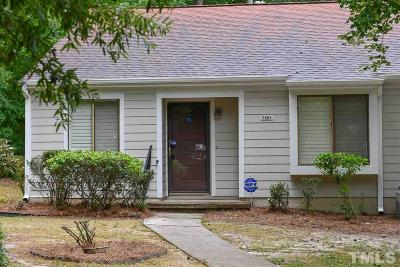 Raleigh Townhouse For Sale: 5854 Branchwood Road