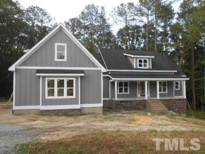 Angier Single Family Home Contingent: 153 Silverside Drive