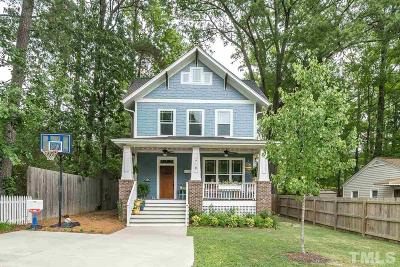 Durham County Single Family Home For Sale: 1718 Rosetta Drive