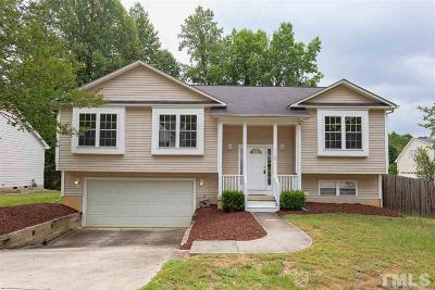Apex Single Family Home Contingent: 1109 Kissena Lane