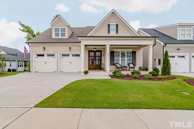 Holly Springs Single Family Home For Sale: 336 Fairway Vista Drive