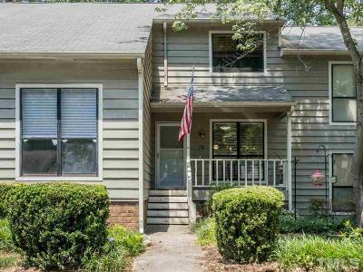 Cary Townhouse Contingent: 518 Applecross Drive