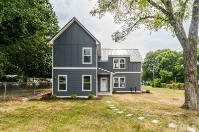 Durham County Single Family Home For Sale: 511 Odell Street