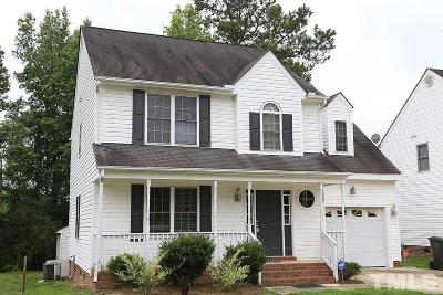 Raleigh Single Family Home Contingent: 1600 Entheos Lane