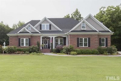 Harnett County Single Family Home For Sale: 120 Cross Keeper Lane