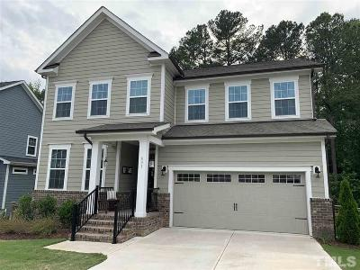 Holly Springs Single Family Home Contingent: 801 Ancient Oaks Drive