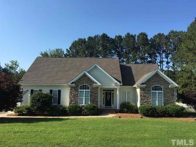 Fuquay Varina Single Family Home For Sale: 5124 Briton Place