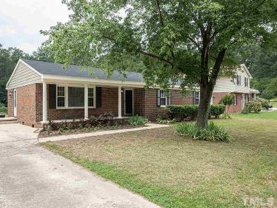 Wake County Single Family Home Contingent: 3237 Huntleigh Drive
