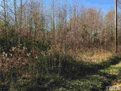 Orange County Residential Lots & Land For Sale: N Nc 86 Highway