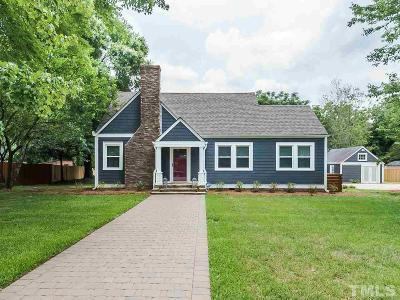 Raleigh Single Family Home For Sale: 527 Powell Drive