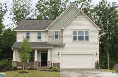 Garner Single Family Home Contingent: 41 Pine Creek Court