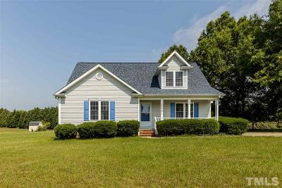 Zebulon Single Family Home For Sale: 820 Water Plant Road