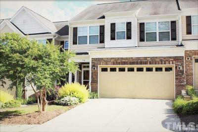 Cary Townhouse Contingent: 716 Grace Hodge Drive