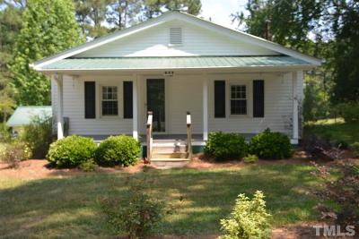 Chatham County Rental For Rent: 643 Mt Pisgah Church Road