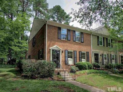 Raleigh Townhouse Contingent: 3119 Morningside Drive