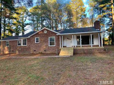 Oxford Single Family Home For Sale: 7680 Nc 96 Highway