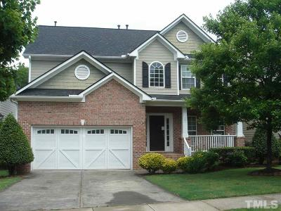 Cary Single Family Home For Sale: 151 Presidents Walk Lane